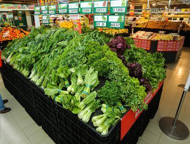 Awal bulan puasa, Sayur Mayur di Supermarket Ikut Naik