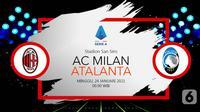 AC Milan vs Atalanta (Liputan6.com/Abdillah)
