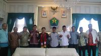 Dialog perwakilan kelompok lintas agama dengan Wali Kota Malang, Sutiaji (Humas Pemkot Malang)