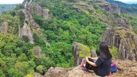 Gunung Api Purba Nglanggeran, Gunungkidul, Yogyakarta. (dok. Instagram @noviralarassati/https://www.instagram.com/p/BeHWuging53/?utm_source=ig_web_copy_link/Asnida Riani)