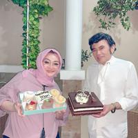 Ricca Rahim dan Rhoma Irama (Instagram/riccarhoma)