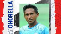 Arema FC - Ricky Ohorella (Bola.com/Adreanus Titus)