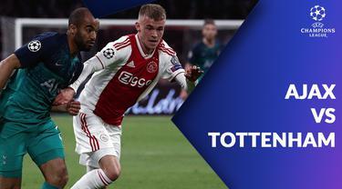 Berita video statistik pertandingan Ajax vs Tottenham Hotspur pada laga semifinal leg kedua Liga Champions 2018-2019, Kamis (9/5/2019) di Johan Cruijff Arena, Amsterdam.