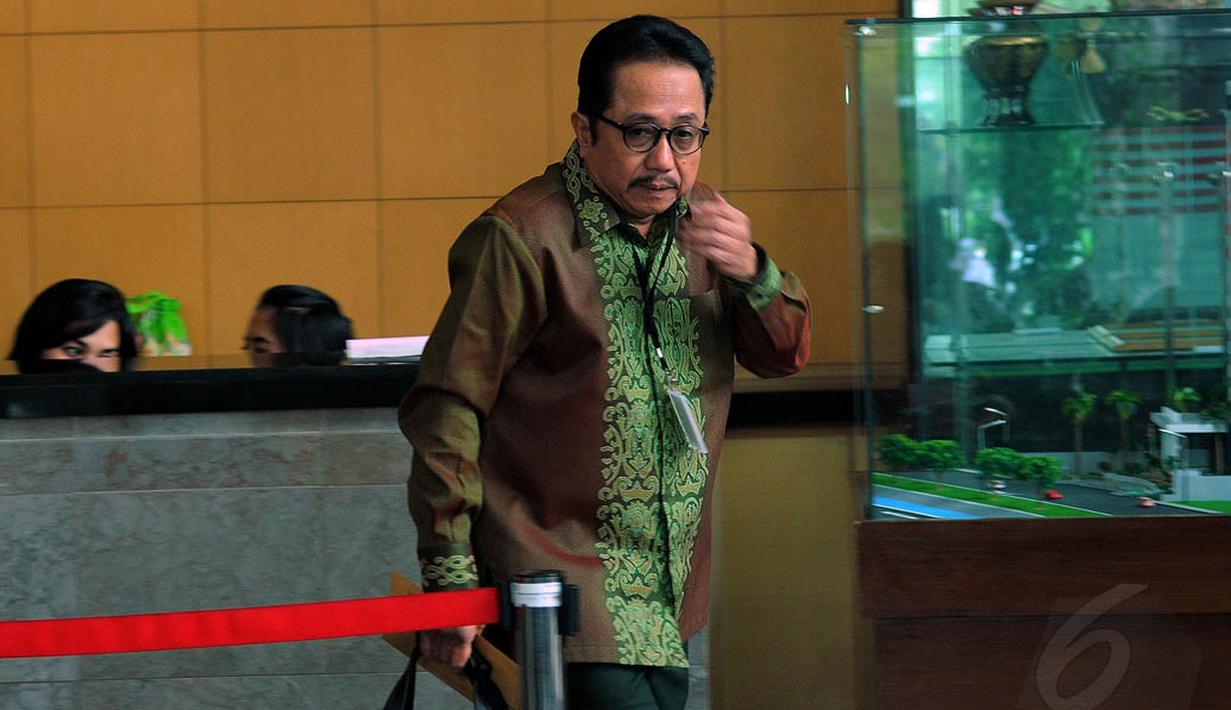 Mantan Sekjen Kementerian ESDM Waryono Karno (Liputan6.com/Faisal R Syam)