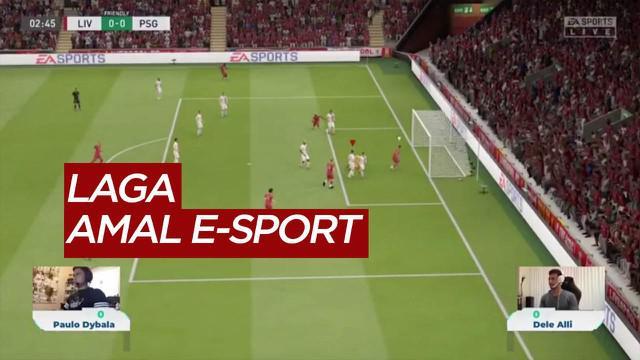 Berita Video Paulo Dybala Kalahkan Dele Alli Dalam Laga Amal E-Sport Untuk Perangi COVID-19