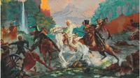 Foto ilustrasi dan lukisan tentang Pangeran Diponegoro (Foto koleksi Peter Carey)