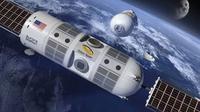 Hotel ruang angkasa mewah pertama di dunia akan dibuka tahun 2022 mendatang. (Foto: Instagram @space.bible)