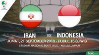 AFC U16 Iran Vs Indonesia (Bola.com/Adreanus Titus)