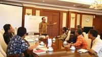 Audiensi APINDO dengan Mentri Ketenagakerjaan M Hanif Dhakiri, Jumat, 22 September 2017.