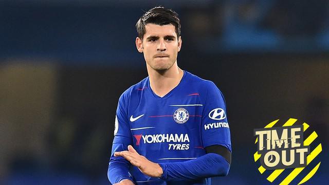 Berita video Time Out yang membahas para striker yang gagal bersinar di Premier League seperti Alvaro Morata.