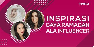 Inspirasi Gaya Ramadan Ala 3 Influencer Cantik
