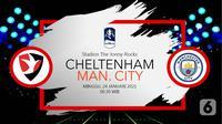 Cheltenham Town vs Manchester City (Liputan6.com/Abdillah)