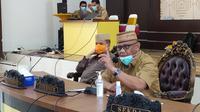 Gubernur Gorontalo Rusli Habibie. (Arfandi Ibrahim/Liputan6.com)