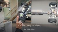 Microsoft dan Volvo menciptakan teknologi yang memungkinkan penggunanya mengeksplorasi kendaraan hanya dengan menggunakan kacamata