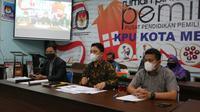 KPU Medan tetapkan dua paslon pada Pilwalkot 2020.