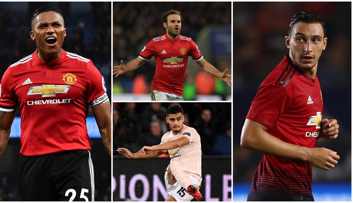 FOTO 4 Pemain Manchester United Yang Bisa Diboyong Secara