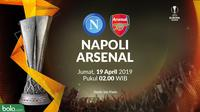 Liga Europa - Napoli Vs Arsenal (Bola.com/Adreanus Titus)