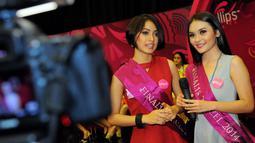 Para finalis akan dibekali segala hal untuk menunjukkan bakat mereka kepada masyarakat Indonesia dan juga dewan juri, Jakarta, (16/10/14). (Liputan6.com/Faisal R Syam)