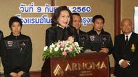 Bos Asosiasi Bulutangkis Thailand, Pattama Leesawadtrakul, menyatakan sedang mencari pelatih sektor tunggal. (nationmultimedia)