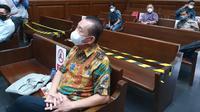 Terdakwa Joko Sugiarto Tjandra alias Djoko Tjandra menyakini vonis yang akan dijatuhkan majelis hakim akan lebih ringan ketimbang tuntutan Jaksa. Liputan6.com/Bachtiarudin Alam)