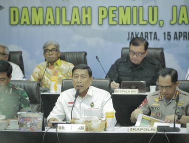 Rapat Kesiapan Akhir Pengamanan Pemilu 2019