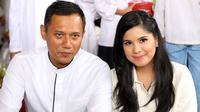 Agus Harimurti Yudhoyono - Annisa Pohan. (Nurwahyunan/Bintang.com)
