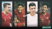 Trivia - Calon rising star Timnas Indonesia di Piala AFF 2020 (Bola.com/Adreanus Titus)