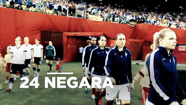 Berita video jadwal pertandingan Piala Dunia Wanita 2019 yang ditayangkan pada 15 Juni.