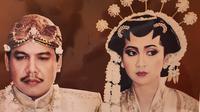 Foto pernikahan Chairul Tanjung dan Anita Ratnasari. (dok. Instagram @anita_chairultanjung/https://www.instagram.com/p/B5EFsg9h3Y8/)