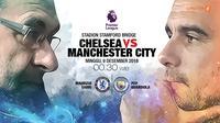 Chelsea vs Manchester City (Liputan6.com/Abdillah)