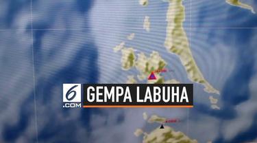 BMKG Ternate mencatat setidaknya ada 92 kali gempa susulan yang hingga pagi ini terasa di Labuha, Maluku Utara sejak Minggu (14/7).
