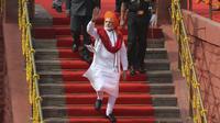 Perdana Menteri India Narendra Modi (AP/Manish Swarup)