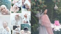 Potret Maternity Shoot 5 Artis Saat 'Di Rumah Aja'. (Sumber: Instagram.com/_irishbella_ dan Instagram.com/tasyafarasya)