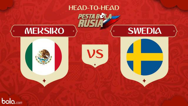 Berita video head-to-head Piala Dunia Rusia 2018: Meksiko vs Swedia.