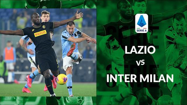 Berita video statistik Lazio vs Inter Milan pada lanjutan Serie A 2019-2020 pekan ke-24. Lazio bungkam Inter Milan 2-1, Senin (17/2/2020) di Stadion Olimpico, Roma.