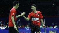 Piala Sudirman: Hendra Setiawan/Mohammad Ahsan (badmintonindonesia)