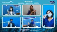 (Foto:Dok.Talkshow Carex - Garuda Indonesia)