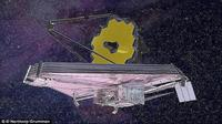 Teleskop raksasa NASA, Super Hubble. (Foto: NASA)