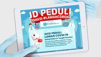 JD.id berkolaborasi bersama Kitabisa.com menggelar aksi peduli lawan corona