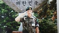 Yunho menjalani wajib militer selama 2 tahun