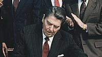 Presiden AS Ronald Reagan (@DavidPriess/Twitter).