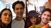Potret Kebersamaan Luna Maya dan Dimas Beck. (Sumber: Instagram/dimasbeck dan YouTube/DimBeck Channel)