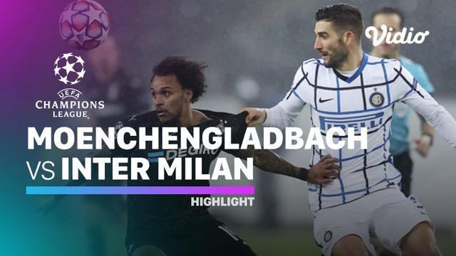 Berita video highlights matchday 5 Grup B Liga Champions 2020/2021 antara Borussia Monchengladbach melawan Inter Milan yang berakhir dengan skor 2-3, Rabu (2/11/2020) dinihari WIB.