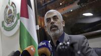 Pemimpin Hamas Yahya Sinwar (Khalil Hamra/AP Photo)