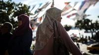 Larangan berjilbab di militer Turki dicabut. (AFP)