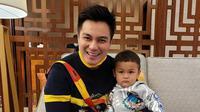 Baim Wong dan Kiano Tiger Wong. (Foto: Instagram @baimwong)