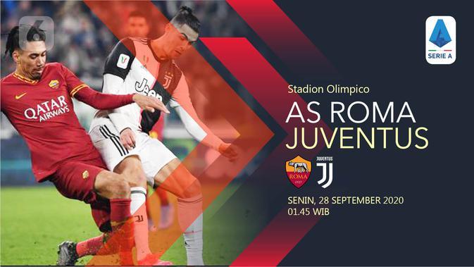 Link Live Streaming Liga Italia Roma Vs Juventus Malam Ini Bola Liputan6 Com