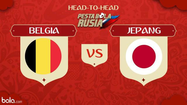 Belgia bersua Jepang pada Babak 16 Besar Piala Dunia 2018, di Rostov Arena, Senin (3/7/2018) atau Selasa (4/7/2018) dini hari WIB.