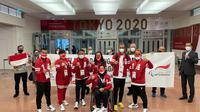 KBRI Tokyo menyambut kedatangan kloter terakhir rombongan atlet Indonesia yang akan mengikuti ajang Paralimpiade Tokyo 2020. (Dok: KBRI Tokyo/ Kemlu RI)