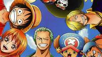 Karakter utama yang biasa muncul dalam manga dan anime One Piece besutan Eiichiro Oda. (Shueisha)